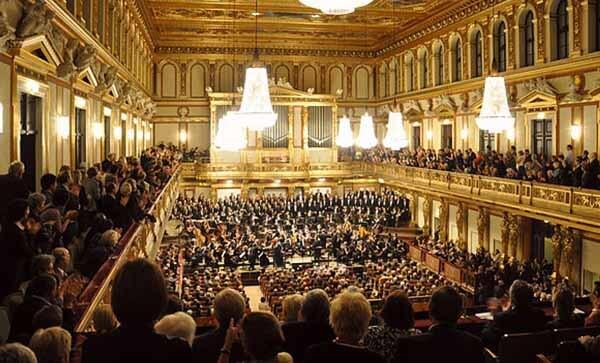 ウィーン楽友協会大ホール